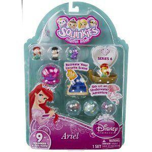 Disney Princess Series 6 Ariel Little Mermaid Figures Tiny Toys