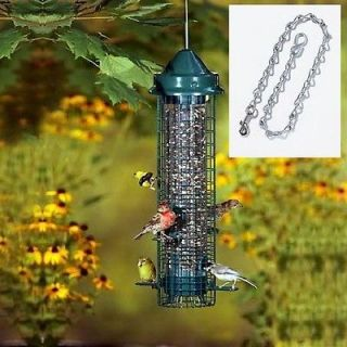BROME SQUIRREL BUSTER CLASSIC SQUIRREL PROOF BIRD FEEDER 1015 FREE