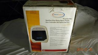 Feature Comforts Propane Gas Vent Free Blue Flame Space heater 10KBTU