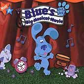 Blues Big Musical Movie by Blues Clues (CD, Sep 2000, Kid Rhino