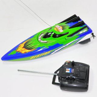12 Radio Remote Control RC R/C Racing Speed Boat Toys fun gift