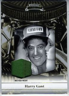 2012 Harry Gant Press Pass Legends Pieces of History Memorabilia Gold