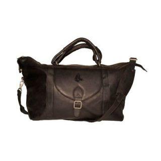 BOSTON RED SOX MLB Black Leather Travel Bag NEW