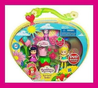 NEW STRAWBERRY SHORTCAKE Mini Doll Playset SUN LOVIN GARDEN Cherry Jam
