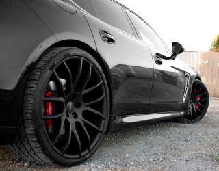 22 Giovanna Kilis Wheels Black BMW 7 Series 740 750 760 B7 F01 F02
