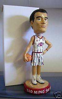 YAO MING 2003 ROOKIE Rockets Bobble head Bobblehead SGA