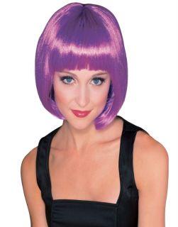 Katy Perry California Girl Purple Model Bang Short Bob Halloween