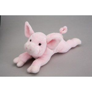 Douglas Cuddle Rouge the Pink Pig Plush Stuffed Animal Child Kid Toys