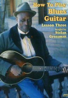 How to Play Blues Guitar Lesson 3 [DVD New]