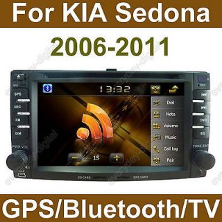 Car GPS DVD Player Bluetooth Radio RDS iPod A2DP for KIA Sedona