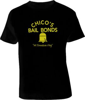 Bad News Bears Movie Funny Chicos Bail Bonds Adult Large T Shirt