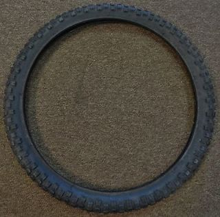size 20 inch 20x1 3/4 S 7 Knobby Bicycle Tire for Old School BMX Bike