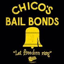 Bad News Bears Movie Chicos Bail Bonds Freedom Licensed Tee Shirt
