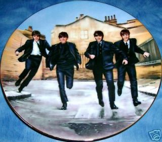 beatles collector plates in Bradford Exchange
