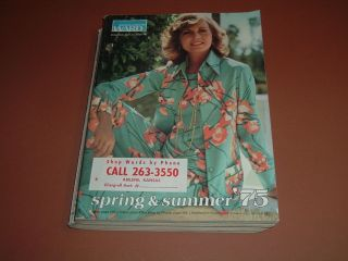 1975 Montgomery Ward, Spring & Summer Catalog   Fashions, Swimwear