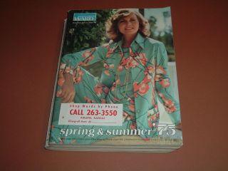 1975 Montgomery Ward, Spring & Summer Catalog   Fashions, Swimwear
