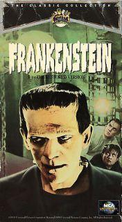 FRANKENSTEIN (THE RESTORED VERSION VHS 1997) BORIS KARLOFF
