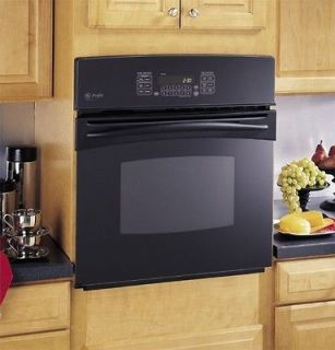 BRAND NEW GE PROFILE 27 BLACK GLASS CONVECTION OVEN JK915BFBB @ 53%
