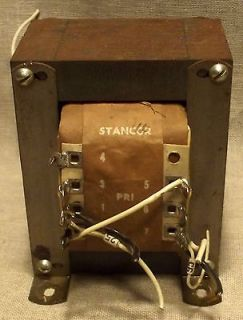 VINTAGE STANCOR RT 206 BROADCAST RADIO TUBE MICROPHONE MIXER POWER