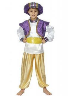 ARAB arabian sultan genie aladdin fancy dress costume boys 10 11