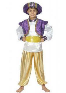 ARAB arabian sultan genie aladdin fancy dress costume boys 10 11