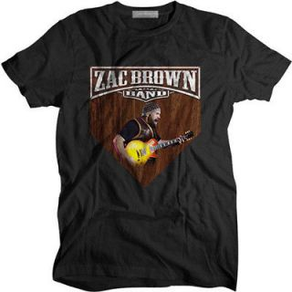 New Zac brown band Black shirt size S 5XL Rare item