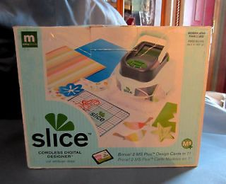 NIB Slice BUNDLE PAK Cordless Digital Designer Making Memories Die