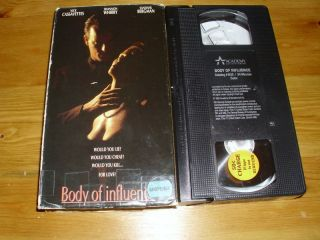 Body Of Influence VHS Shannon Whirry UNRATED VERSION