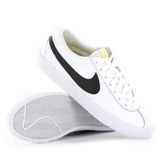 Nike Bruin Low White Black Mens Trainers
