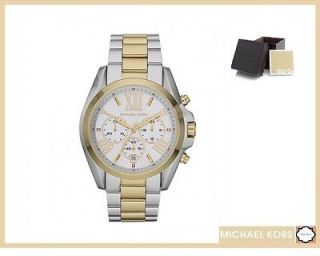 Michael Kors Womens Watch Bradshaw Stainless Steel MK5627 Silver gold