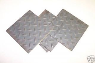 FLOOR PLATE OR DIAMOND PLATE SHEET STEEL 12 X 48