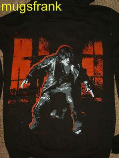 The Crow Movie Crow Red Outline Logo Zip up Hoodie Jacket Shirt
