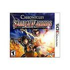 3DS SAMURAI WARRIORS CHRONICLES NINTENDO 3 DS BRAND NEW SEALED