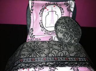 barbie bratz MONSTER HIGH doll House FURNITURE OOAK Bed 4 SCARIS