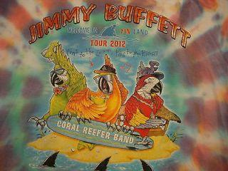 Jimmy Buffett Welcome to Fin Land 12 Concert Tour 50/50 Black