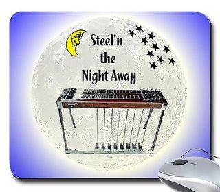MousePad With Pedal Steel Guitar Steeln the Night Away