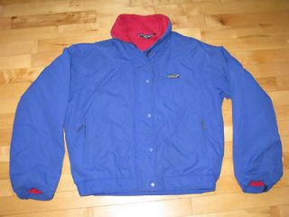 Patagonia Womens Winter Jacket Coat   Blue/Purple   Size 11/12   Warm