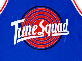 BUGS BUNNY TUNE SQUAD SPACE JAM MOVIE JERSEY BLUE NEW ANY SIZE