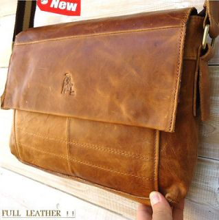 GENUINE Leather HAND Bag FIT iPad Business man LAPTOP TABLET 14 13