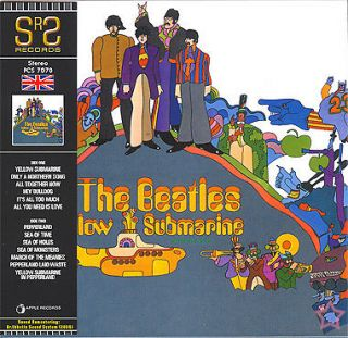 BEATLES YELLOW SUBMARINE UK RLS CD MINI LP OBI SRS