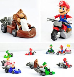 Newly listed HT Kart Pull Back Car 2Super Mario Bros Figure Toy Lot10