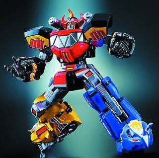 SUPER ROBOT CHOGOKIN MIGHTY MORPHIN POWER RANGERS MEGAZORD FIGURE PRE