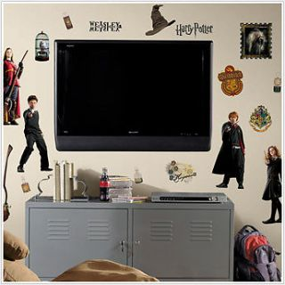 HARRY POTTER 30 BiG Wall Stickers Room Decor Decals