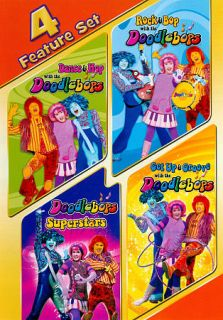 Doodlebops: 4 Feature Set (DVD, 2011, 3 Disc Set)