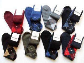 BURLINGTON Socks Mens Classic Original Knee High Argyle Golfing
