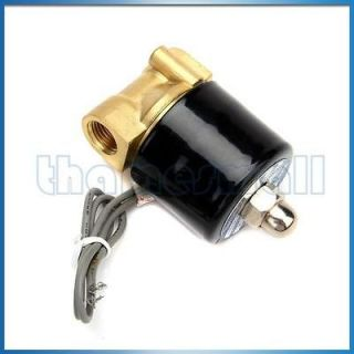 Inch Electric Solenoid Valve for Air Water Diesel Application NEW