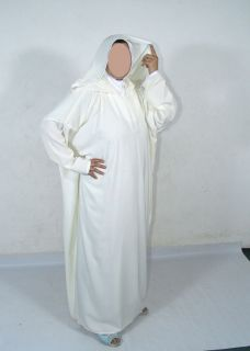 Biege Moroccan Abaya Overhead clothing islamic clothes