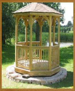 12 foot octagon gazebo plans free, garden sheds argos