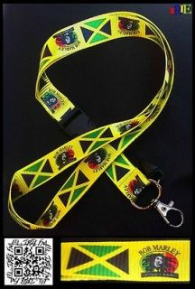 Jamaica Flag Bob Marley Reggae Music Irie Nation Free Radio Keychain