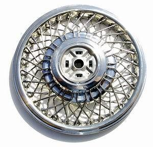 NEW Wire Wheel Spoke Hub Caps Cadillac Eldorado Seville